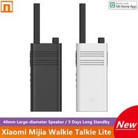 Xiaomi Mijia-walkie-talkie Lite, 40mm, altavoz de gran diámetro, 5 días de batería, Control de aplicaciones de teléfonos inteligentes para exteriores, nuevo