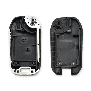 Image 4 - KEYYOU Modified Remote Car Key Shell Fob For Peugeot 307 107 207 407 Citroen C2 C3 Xsara 2 Buttons Key Case HU83/VA2/NE73 Blade