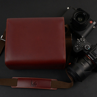 Leather Sony A6400 Leica Q2 Fuji Xt30 Xt3 Xe3 Leather Case Camera Bag Photo Bag