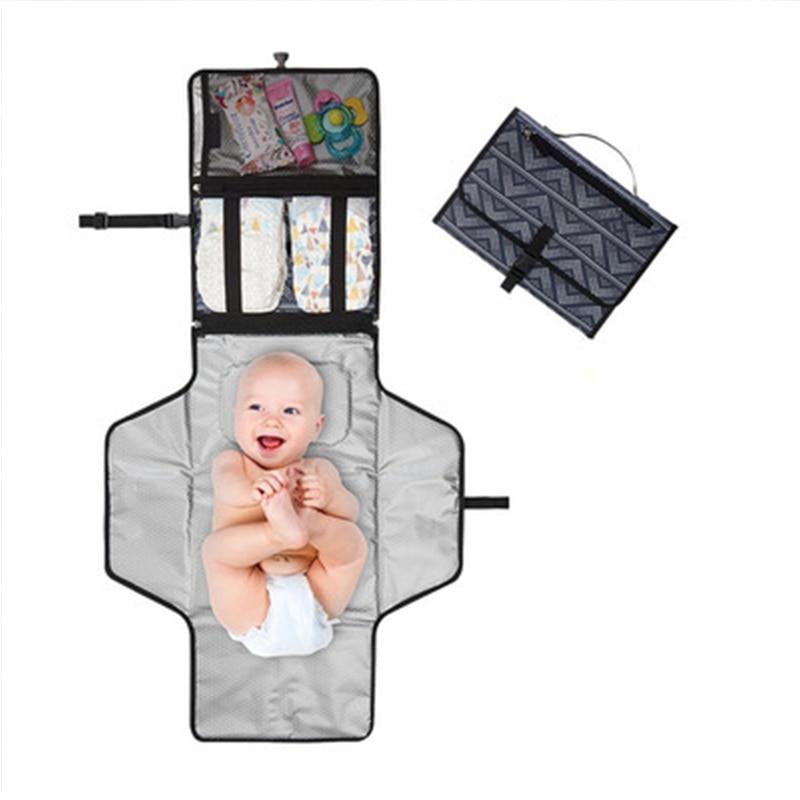 Newborn Baby Changing Pad Baby Changer Portable Foldable Waterproof Stroller Mattress Children Floor Mat Baby Nappy Changing Mat