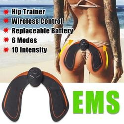 EMS hip trainer hip trainer hip trainer butt trainer gluteus muscle trainer buttock stimulator EMS training device butt toner with remote control USB charging cable 01