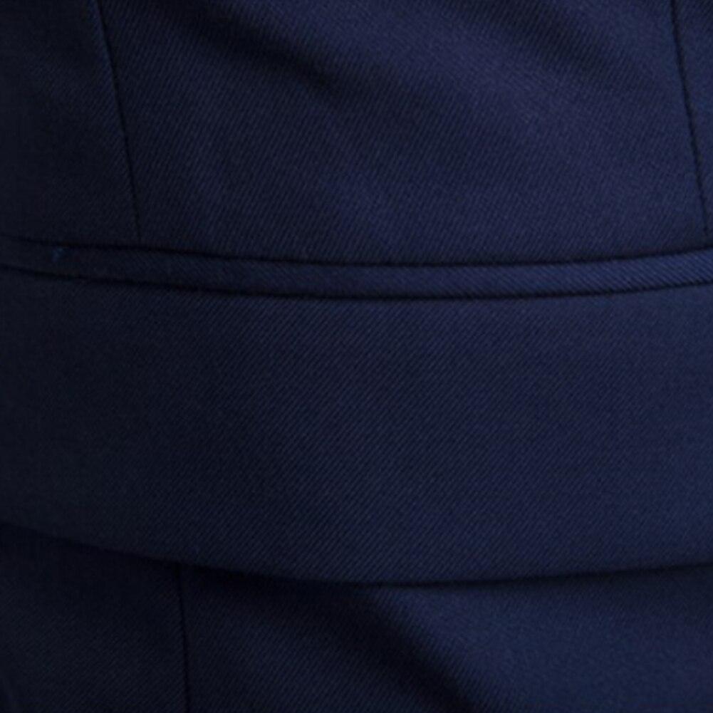 manga longa, lapela, botão slim, roupas de