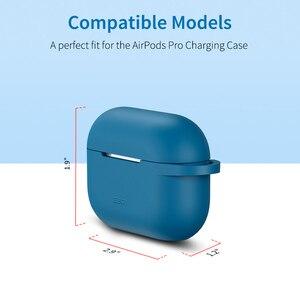 Image 5 - Esr Voor Apple Oortelefoon Case Met Sleutelhanger Haak Up Siliconen Cover Voor Apple Draadloze Bluetooth Oortelefoon Gevallen Opladen Case