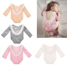 Jumpsuit Photography-Props Outfits Lace Romper Princess-Costume Girls Newborn-Baby Infants