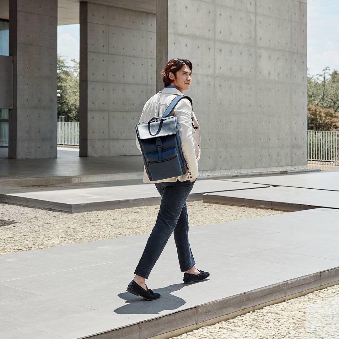 22.5L Xiaomi 90 точек светильник городской Досуг Рюкзак Xiomi сумка рюкзак многогранный светильник для хранения технология магнитная пряжка - 2