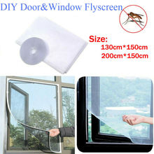 Summer Mosquito Screen Door Screen Anti-Insect Bug Fly Mosquito Magic Magnetic Protection Network Mesh Window Curtain Net 150cmx130cm fly mosquito window net mesh screen indoor insect fly screen curtain mesh bug mosquito net easy to fit with tape y20