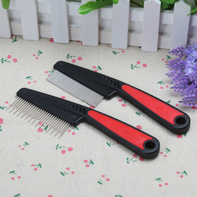 Pet Grooming Comb For Cats & Dogs 4