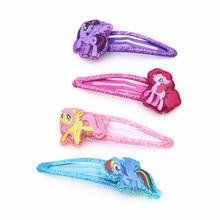 Kids Hairpins Hair-Accessories Headwear Clips Girls Princess Baby Children New Cartoon