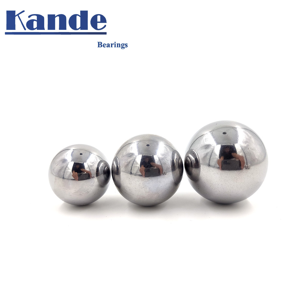 High Quality 41-50 GCR15 Solid Ball High Precision G60 1PC 41 - 50 Mm 1PC Hardness Bearing Ball For CNC ,impact Test .No Magnet!