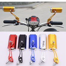 Rétroviseur de moto universel coloré, 8MM 10MM, pour honda, suzuki, yamaha, vespa, piaggio, scooter