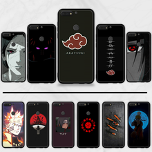 SuperอะนิเมะNaruto Akatsuki Clan Cloudนุ่มสีดำสำหรับHuawei Honor 7C 7A 8X 8A 9 10 10i Lite 20 NOVA 3i 3e(China)