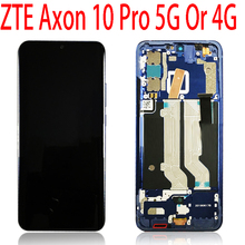 For ZTE Axon 10 Pro 5G 4G Display Matrix Touch Screen Digitizer Assembly For ZTE A2020 Pro LCD Display Replacement Parts