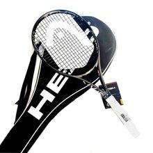 Professional HEAD Tennis Racket Adult Full Carbon Training Tenis Padel Single Rackets String Bag Ultra Light Raquete De Tenis