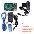 Осьминог Raspberry Pi 3 комплект Модель B с блок питания камеры макетная плата для 3D-принтера Ender 3 Micro USB