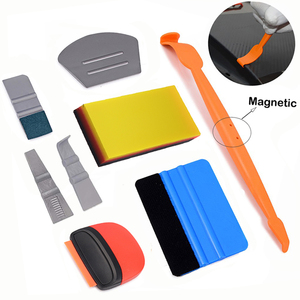EHDIS Vinyl Car Wrap Carbon Fiber Sticker Magnetic Squeegee Razor Scraper Window Foil Film Wrapping Tools Kit Car Accessories(China)