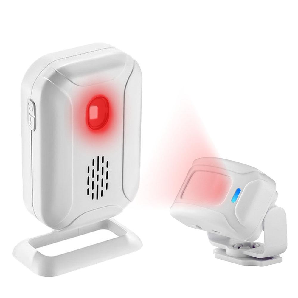 36 рингтонов магазин домашней безопасности Добро пожаловать Chime беспроводной инфракрасный PIR датчик движения детектор сигнализации звонок ...