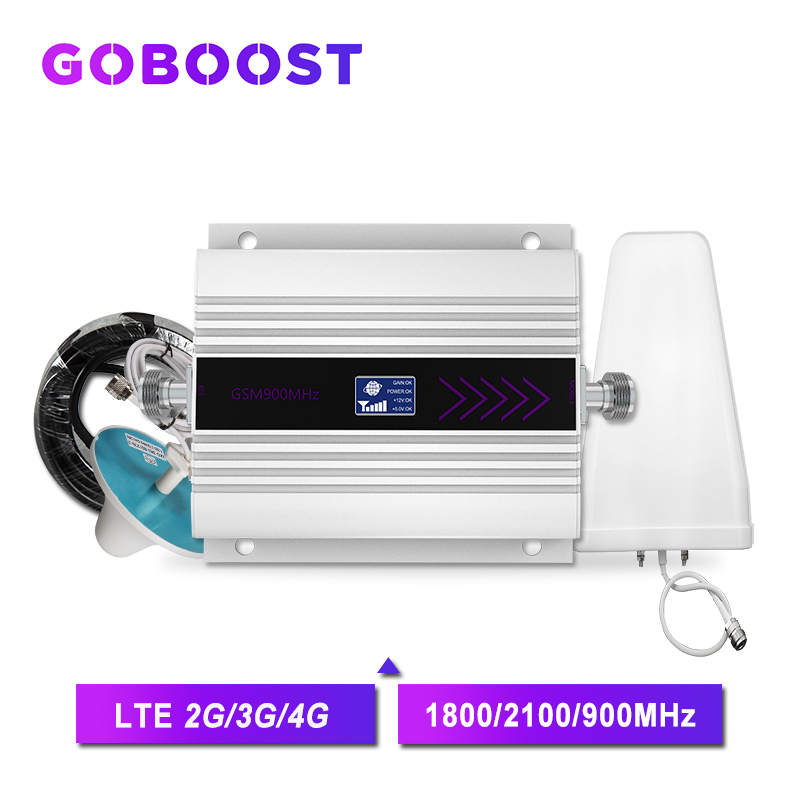 GSM 2g 3g 4g Cellular Signal Booster GSM Mobile Phone Signal Amplifier 3G Repeater 4G 2100 UMTS LTE DCS Repeater LDPA Antenna /