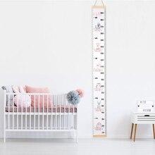 Реквизиты в скандинавском стиле деревянные настенные подвесные Детские линейки для измерения роста настенные наклейки декоративные Детские диаграммы роста для спальни домашний декор