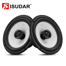 ISUDAR SU601C Car Coaxial Speakers 2 Pcs 6.5 Inch 2 Way Vehicle Door Auto Audio Stereo Full Range Frequency HiFi Speaker RMS 40W