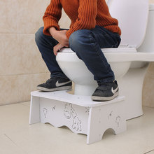 Non-slip Toilet Stool Bench Aid Step Foot Stool Potty Help Supplies Anti-constipation bathroom for child Foldable Toilet Stool solid surface stone small bathroom step stool bench chair bathroom steam shower stool 16 x 12 inch rs111