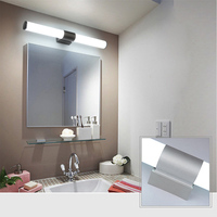 Permalink to Bathroom Vanity LED Mirror Lamp Wall Fixtures Night Lights Waterproof Acrylic + Aluminum Fashion Toilet Wall Lamp Kitchen