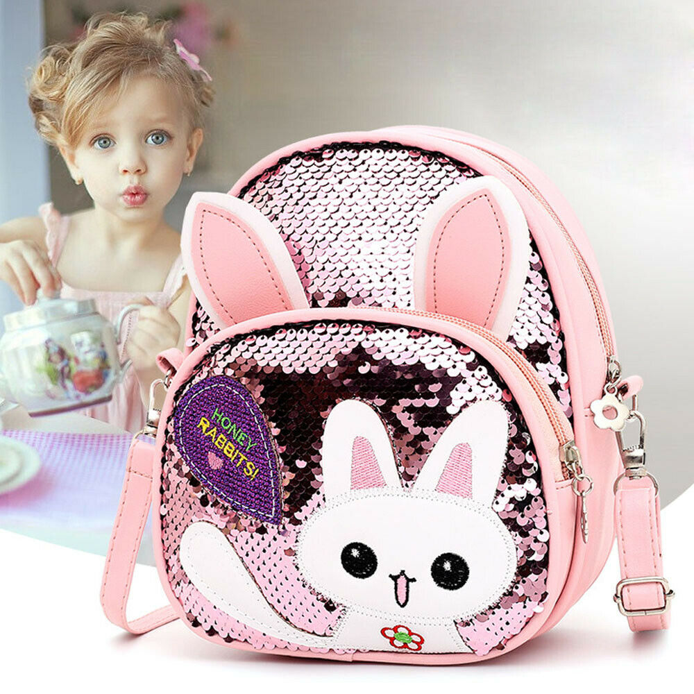 Toddler Kid School Bags For Teenage Girls Sequin Children School Backpack Sac A Dos Baby
