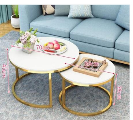 Coffee Table Small Round Table Nordic Simple Side Cabinet Simple Household Side Table Square Table Sofa Side Table Bedroom Bedsi