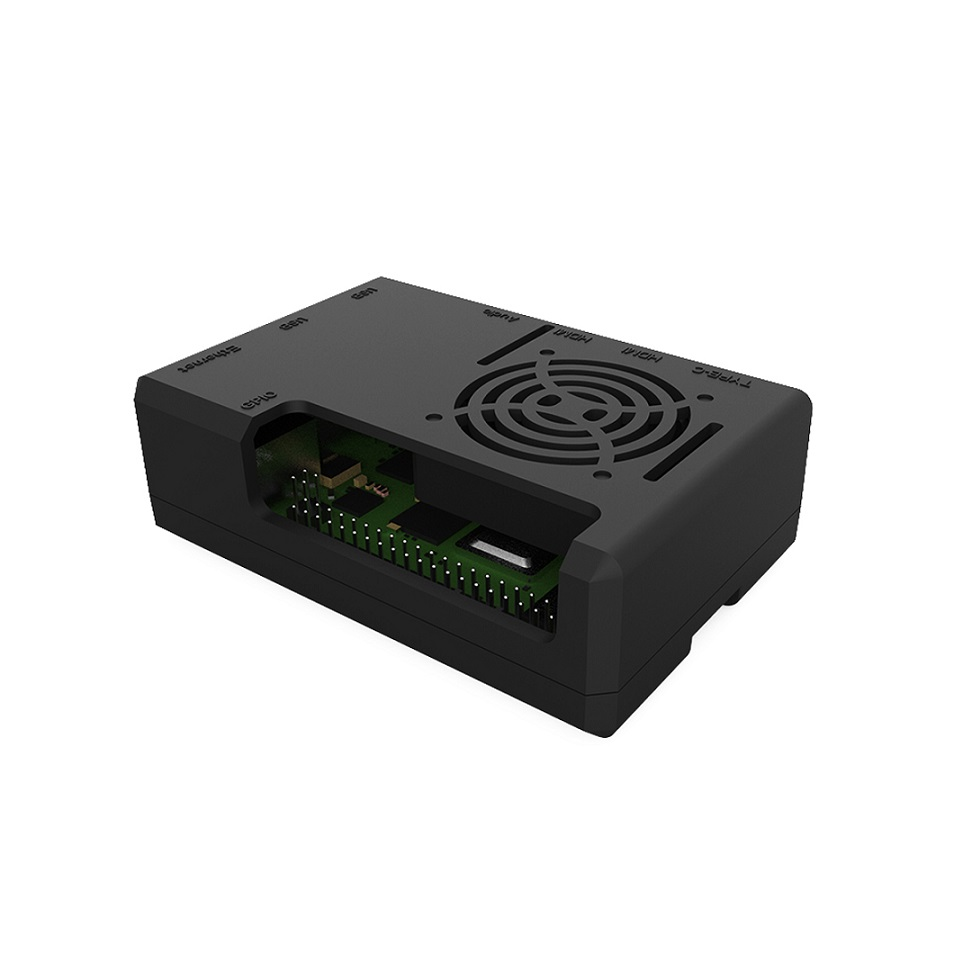 Raspberry Pi 4 B Pi 3 B+ Case 4 Color ABS Protective Shell Removable Cover Case Cooling Fan For Raspberry Pi 3 B+/3/2/ B+