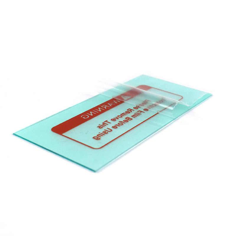 5 قطعة/الوحدة غطاء لحام عدسة حماية ورقة لحام خوذة غطاء للعدسات آلة لحام الأنابيب لحام خوذة قناع
