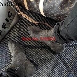 Botas de tornozelo de couro do plutônio estilo clássico único zíper de metal de alta qualidade homens botas de chelsea zapatos sapatos masculinos zapatos de hombred142