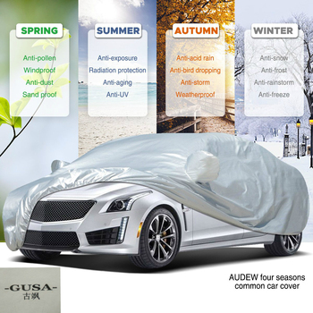 Indoor Outdoor Full Car Cover Sun UV Snow Dust Resistant Protection S M L XL XXL Car Covers Coats Auto Accessories Sedan SUV D30|Car Covers| |  -