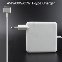 цена на New 45W 60W 85W magsaf*2 T-Tip Laptop Power Adapter Charger For Apple Macbook Air Pro 11