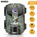 WIMIUS H5 фото камера Trail 16MP 1080P 40 шт. ИК светодиоды охотничья камера IP66 водонепроницаемый датчик движения ночное видение Дикая камера