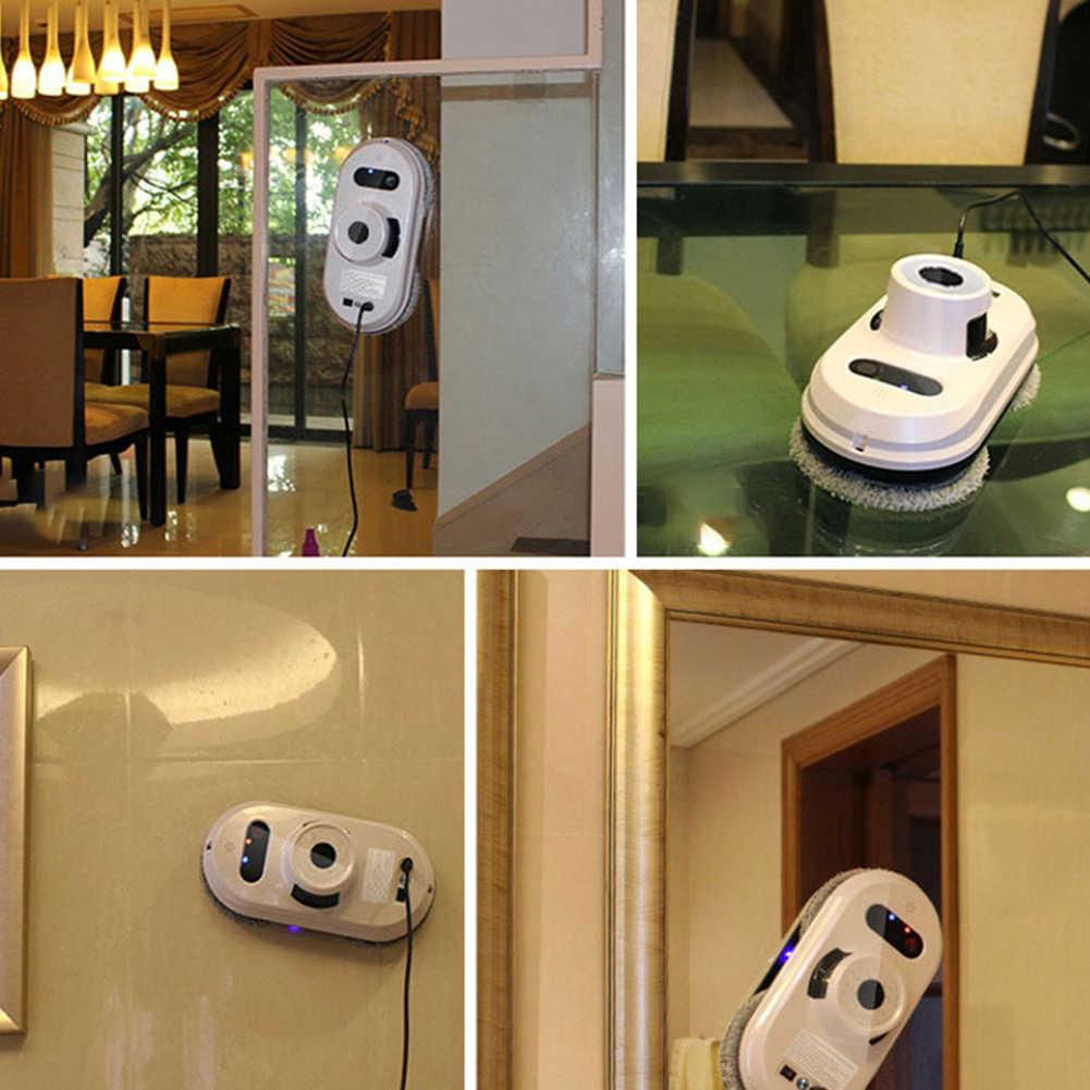 2 pçs robô aspirador de pó janela limpeza robô limpador de vidro elétrico limpiacristales controle remoto para casa