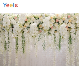 Image 5 - Yeele düğün töreni 3D çiçekler dekor ağacı mor fotoğraf arka planında kişiselleştirilmiş fotoğraf fotoğraf stüdyosu için arka planlar