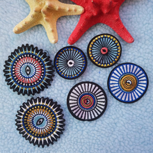 20pcs/lot  Round Circular Embroidery Patch Badge Sticker Clothing Jacket Bag Shoes Decorative Accessories Stranger Things