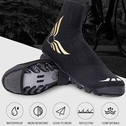 Wodoodporna blokada do roweru pokrowce na buty odblaskowe zimowe ciepłe ochraniacze na rower ochraniacze na buty zimowe buty rowerowe