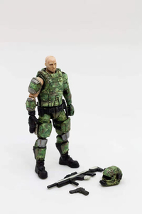 Image 4 - JOYTOY 1/18 action figures Russian army camouflage uniform military soldier figure model toys collection toy