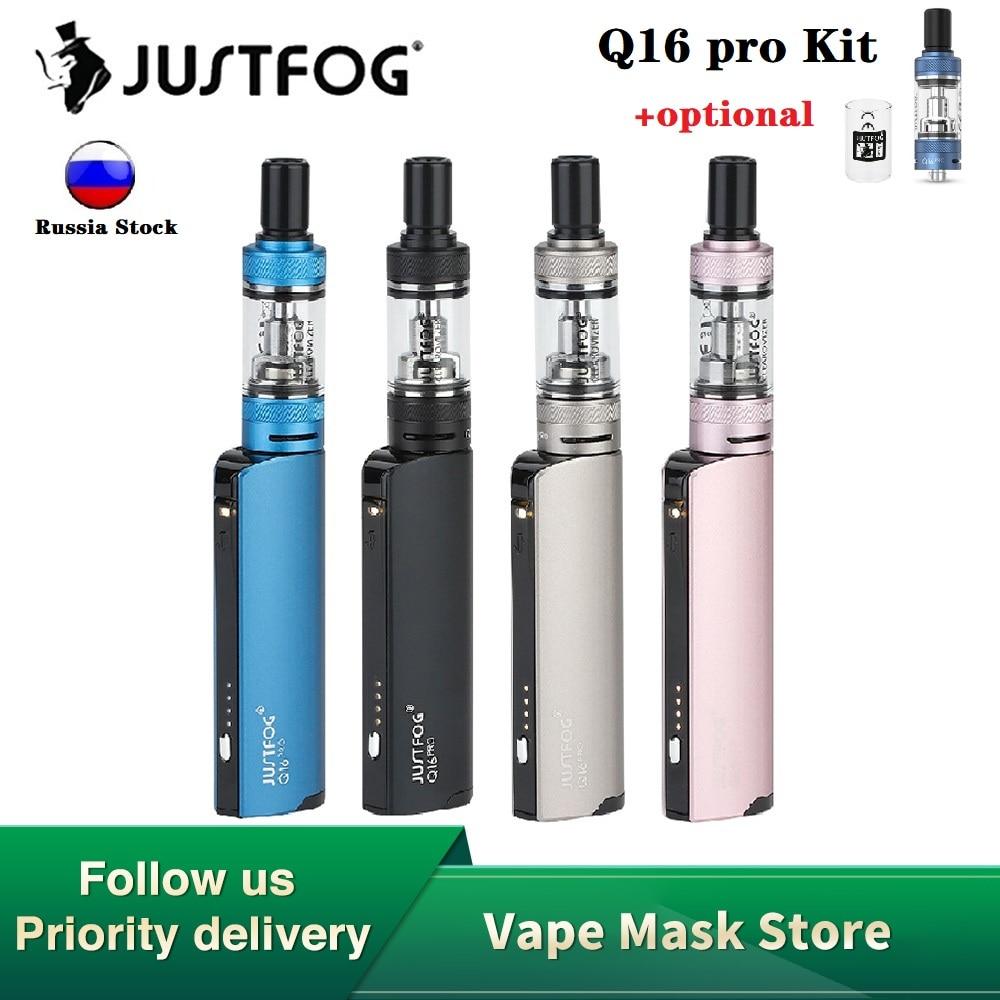 NEW Original JustFog Q16 Pro Kit 900mAh E-cig Vape Kit With 1.9ml Atomizer & 1.6ohm Coil & 4-level Voltage Adjustment Vs Minifit