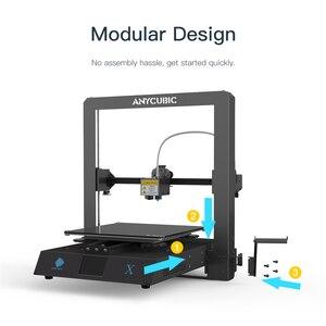 Image 4 - Anycubic I3 Mega Serie Mega X 3D Printer 300*300*305Mm Grote Plus Afdrukken Size Modulaire ontwerp Ultrabase Platform 3D Impressora