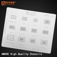 BGA Stencil iPhone IC Direct-Heating-Reballing-Template for 5S 6/6s/6sp/.. WIFI iPad