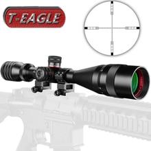 T-EAGLE 4-16X44 AOE охотничьи прицелы 1/2 мил точка сетка красный зеленый с подсветкой башни Сброс блокировки полный размер прицел