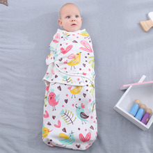 2019 Newborn Sleepsack Cotton Baby Swaddle Bedding Blanket Infant Summer Wrap Parisarc & Swaddling