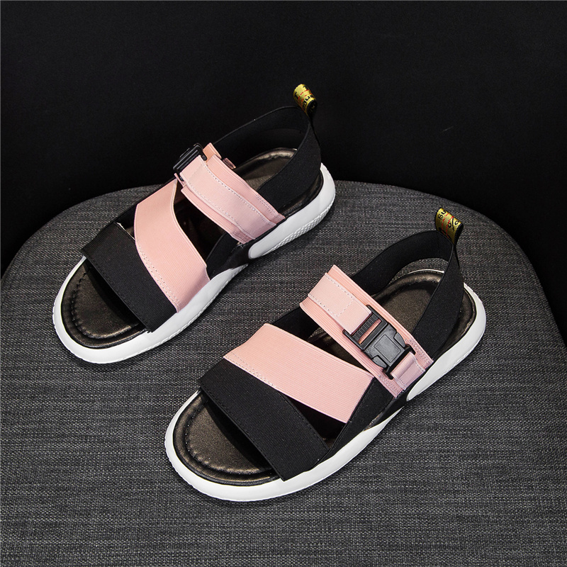 Lucyever Women Sport Sandals Flat Summer Platform Open Toe Outdoor Beach Sandals Female Walking Ladies Comfort Casual Shoes 2020