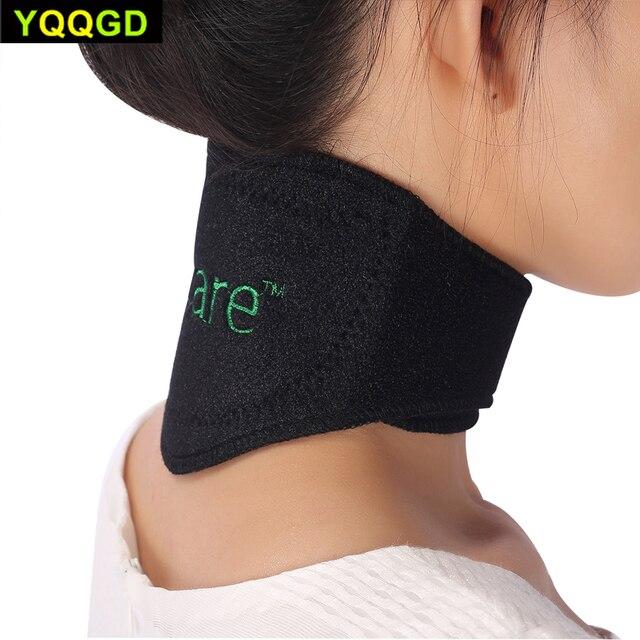 1 Pcs Tourmaline Self-heating Neck Brace Pad Magnetic Therapy Tourmaline Belt Support Spontaneous Heating Neck braces 1
