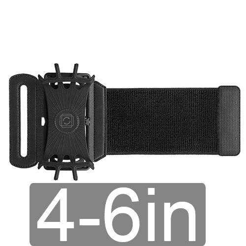 4-6 inch black