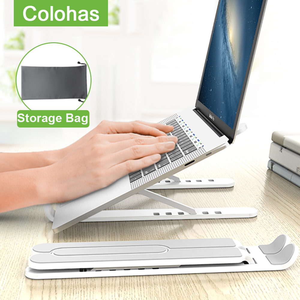 Portable Laptop Stand Folding Adjustable Notebook Stand Holder For Macbook Pro Air Lapdesk PC Computer Cooling Notebook Support