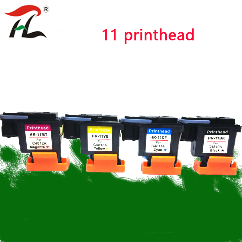 REFIT 11 Yellow Printhead C4813A for HP 1000 1100 1200 2200 2280 2300 2600 2800 CP1700 100 500 510 800 110 800 k850 120 100