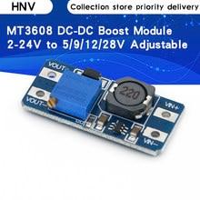 Convertisseur élévateur MT3608 DC-DC pour arduino, Module d'alimentation électrique, sortie maximale 28V 2A