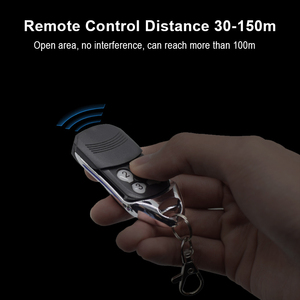 Image 2 - DOORHAN Garage Door Remote Control 433 MHz Rolling Code DOORHAN Transmitter 2/4 Premium RC Black Handheld Transmitter Command